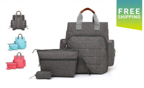 Click to view $59.99 for a 3Pc Diaper Bag Set (a $99 Value)