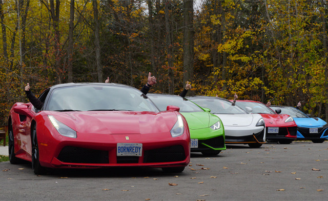 BLACK FRIDAY FLASH SALE! $309 for a Country Tour in an Exotic Car (a $749 Value)