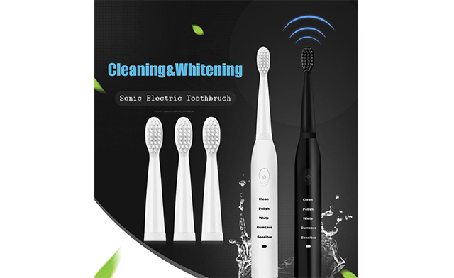 Up to 78% off a Rechargeable Sonic Toothbrush