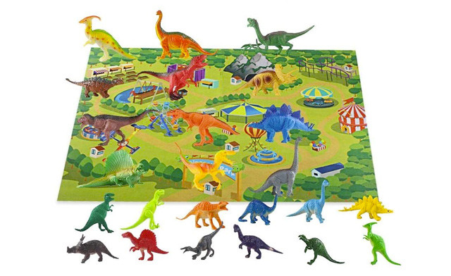 $45 for a 24Pc Toy Dinosaur Set with Mat (a $99 Value)