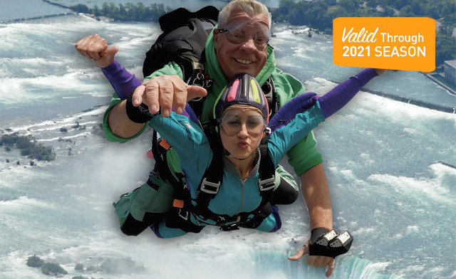 $215 for a Tandem or Solo Jump for 1 Person (a $319 Value)