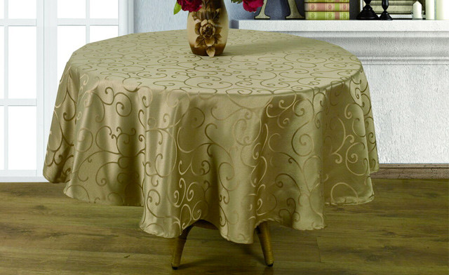 Up to 71% off a Waterproof Round Table Cloth