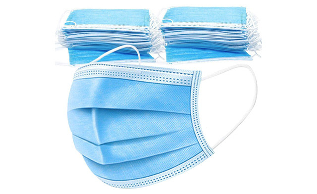 $12.95 & Up for a 50- or 100-Pack of Disposable Face Masks