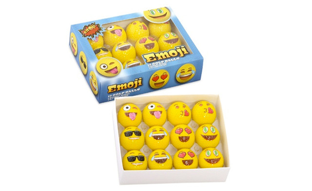 $28.99 for Emoji Golf Balls - 12-Pack (a $41.99 Value)