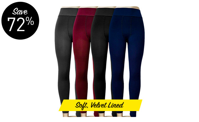 $19.63 for Winter Thermal Leggings (a $69 Value)