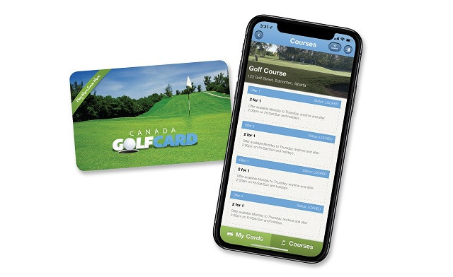 $44.95 for One Canada Golf Card (a $64.95 Value)