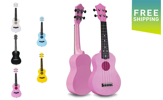 $49 for a 21-Inch Soprano Ukelele (an $89 Value)