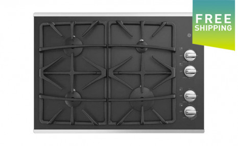 Click to view $950 for a GE 36-Inch Built-In Gas on Glass Stainless Steel Cooktop (a $1,799 Value)