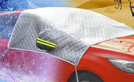 Up to 78% off a Car Windshield Snow Cover