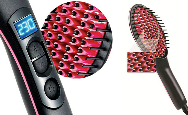 $24.90 for a Portable Hair Straightener Brush (a $49 Value)