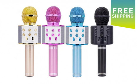 $33.95 for a Wireless Bluetooth Karaoke Microphone (a $79 Value)