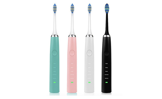Up to 72% off a Rechargeable Sonic Toothbrush