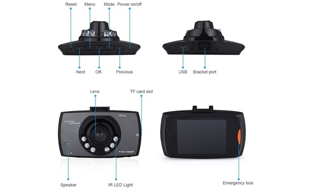 Up to 83% off for an HD 1080P Car Dash Cam with Night Vision