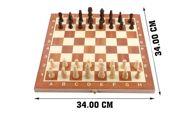$39 for a 3-in-1 Folding Chess Set (a $69 Value)