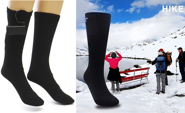 $27.95 for Battery Heated Socks (a $60 Value)