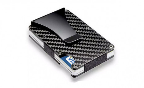 $17.95 for a Carbon Fiber Card Holder (a $38.99 Value)