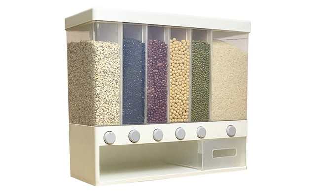 $29.95 for a Wall-Mounted Dry Food Dispenser (a $60 Value)