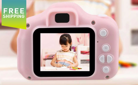 $29.95 for a Kids' Mini Rechargeable Digital Camera Toy (a $59 Value)