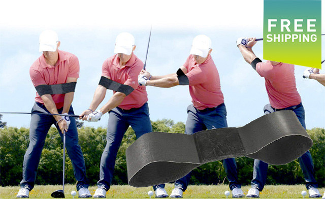 $15 for a 2-Pack of Golf Swing Training Arm Bands (a $39.98 Value)