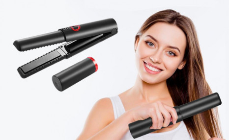 Click to view $49.99 for a 2-in-1 Cordless Hair Straightener & Curler (a $109 Value)