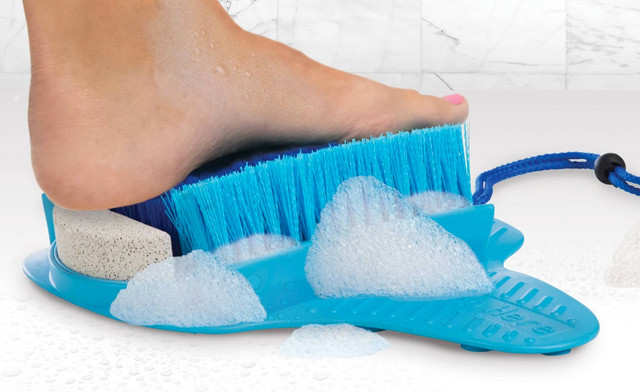 Click to view $15.95 for a Fresh Feet Foot Scrubber (a $29.99 Value)
