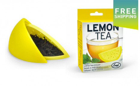 $9.95 for a 2-Pack of Lemon Shaped Tea Infusers (a $25.98 Value)