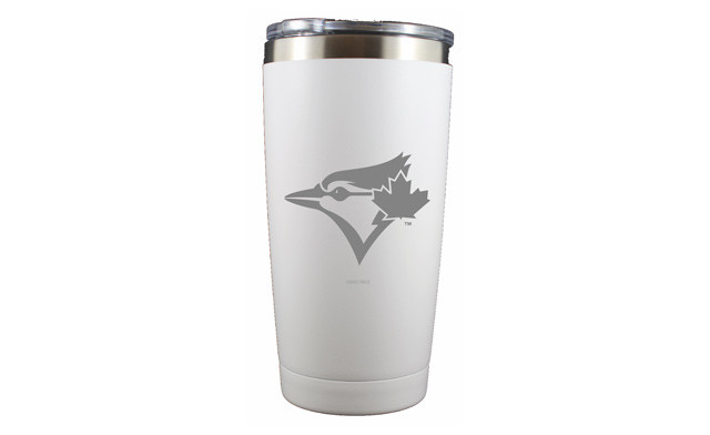 Click to view $24.95 for a Toronto Blue Jays Coffee Tumbler - 20 oz. (a $45 Value)