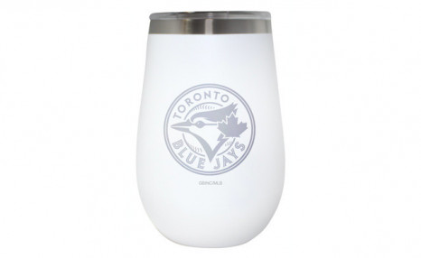 Click to view $24.95 for a Toronto Blue Jays Wine Tumbler - 12 oz. (a $39 Value)