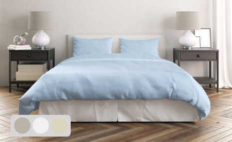 Click to view Up to 72% off a 100% Combed Cotton Sheet Set