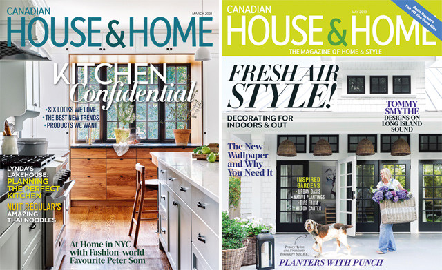 $16 for a 1-year print subscription to House & Home magazine, PLUS a BONUS FREE ISSUE (a $71.50 value)