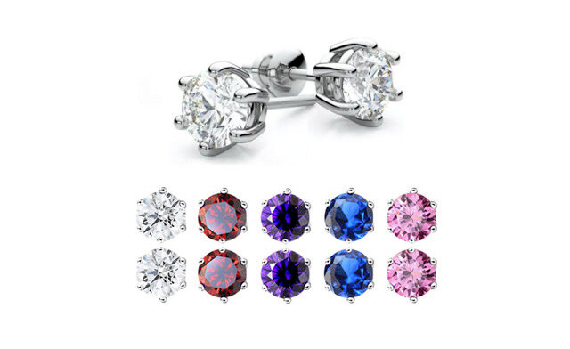 $25 for a Set of 5 Swarovski Element Earrings (a $149.99 Value)