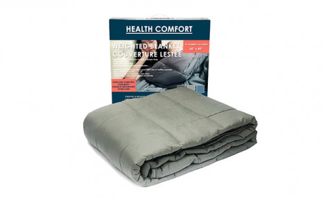Click to view $49 for a Health Comfort Weighted Blanket (a $149 Value)