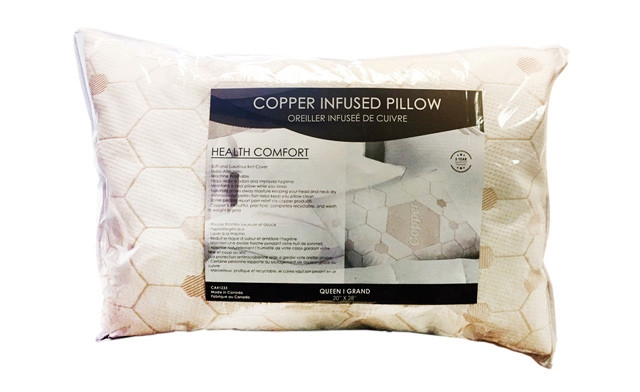 Up to 75% off a Copper-Infused Pillow