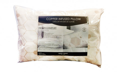 Click to view Up to 75% off a Copper-Infused Pillow