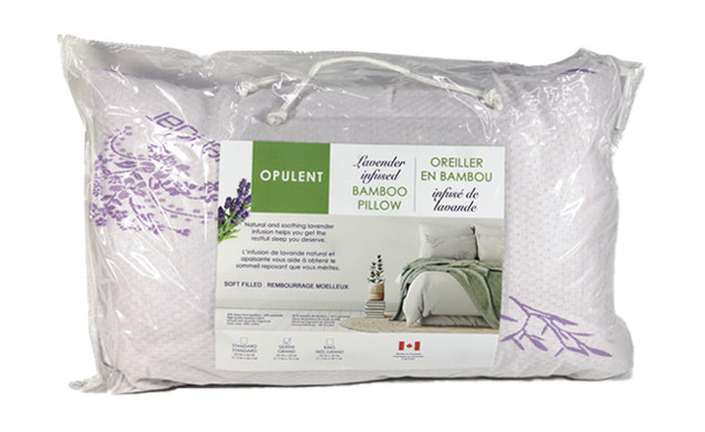 Up to 74% off a Lavender-Infused Bamboo Pillow