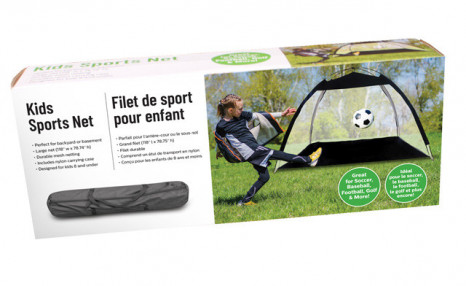 Click to view $44.95 for a Multipurpose Kids Sports Net (a $89.99 Value)
