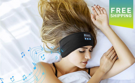 Click to view $21.95 for Bluetooth Sleeping Headphones (a $39 Value)