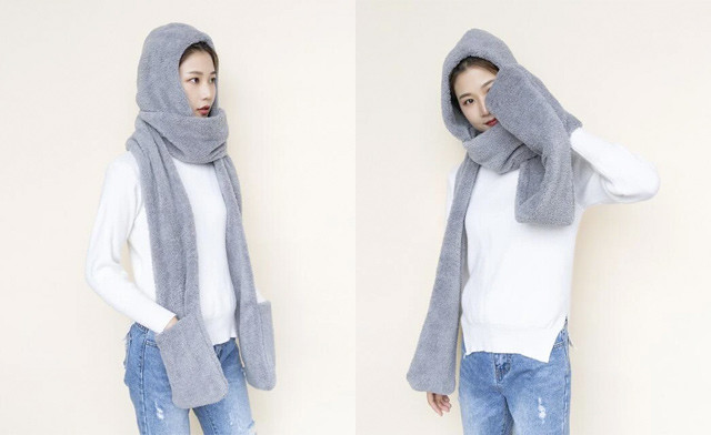 $24.95 for a 3-in-1 Women's Hooded Scarf (a $44.95 Value)