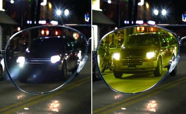 $10.95 for Night Time Vision Driving Glasses (a $19 Value)