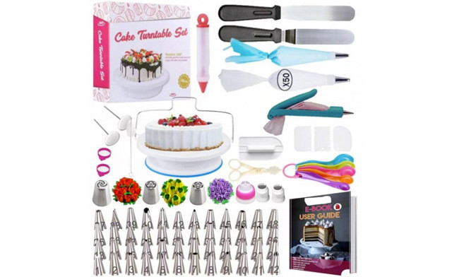 $26.95 for a 127-Piece Cake Decorating Kit (a $44.99 Value)