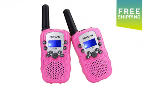 Click to view $37.95 for a Pair of Walkie Talkies (an $89 Value)