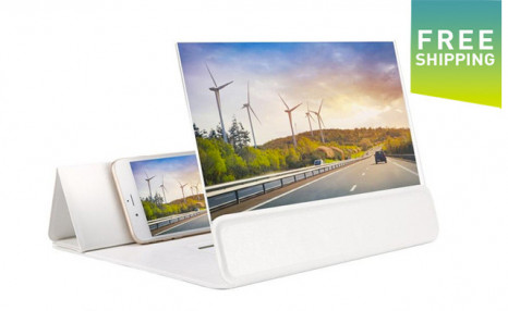Click to view $25.95 for a 3D Phone Screen Amplifier (a $49 Value)