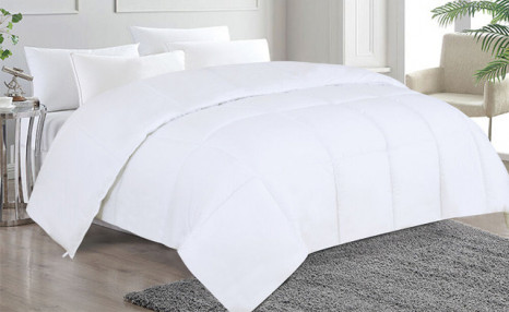 Up to 72% off a Goose Down Alternative Duvet