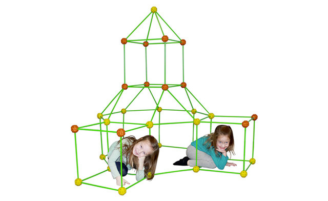 Click to view $39.95 for a DIY Kid's Fort Building Kit (a $110 Value)