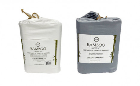 Up to 64% off a Rayon from Bamboo Sheet Set