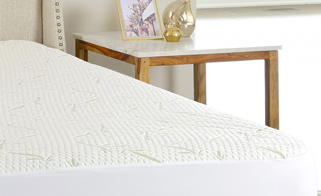 Up to 73% off a Bamboo Mattress Protector