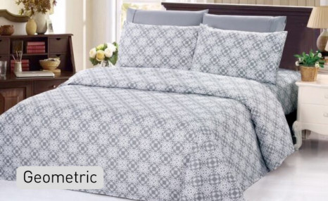 Click to view $17.95 for a Queen Size Bamboo Printed Duvet Cover Set (a $119 Value)