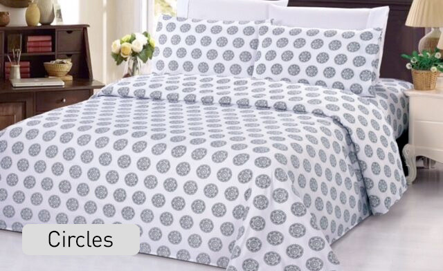 $17.95 for a Queen Size Bamboo Printed Duvet Cover Set (a $119 Value)