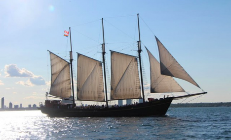 $23 for a 90-Minute Tall Ship Sailing for 1 Person (a $36.73 Value)