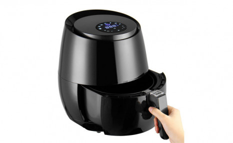 Click to view $109.99 for a 3.8Qt Air Fryer with Digital Display (a $189 Value)